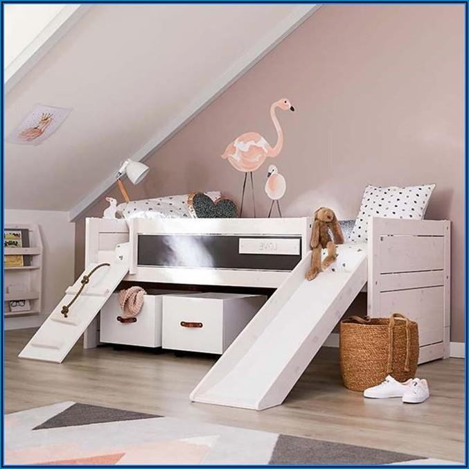 Rutsche Kinderzimmer Bett