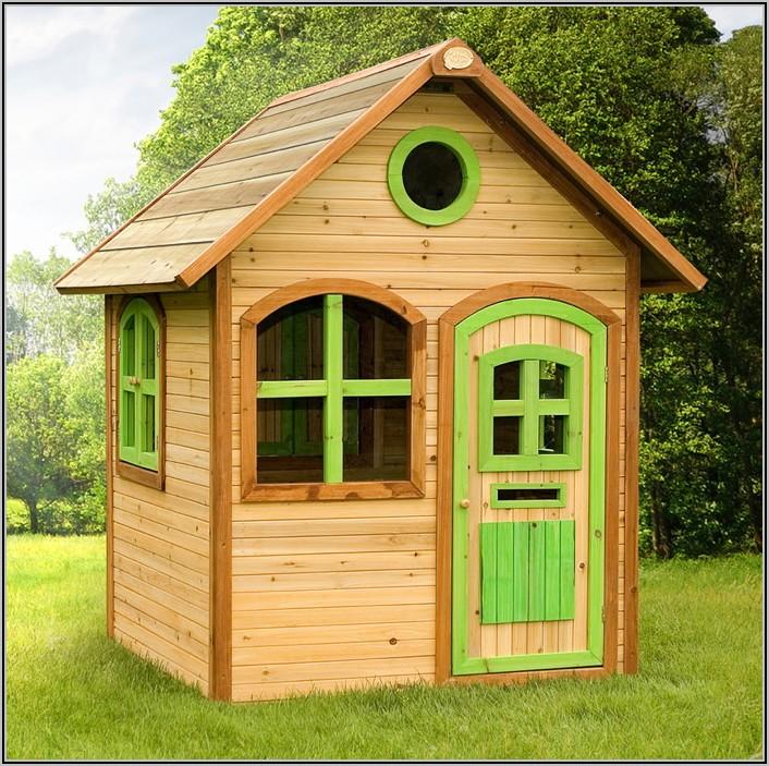 Garten Spielhaus Für Kinder Aus Holz