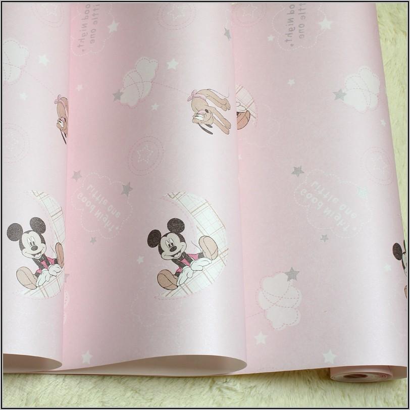 Kinderzimmer Tapete Mickey Mouse