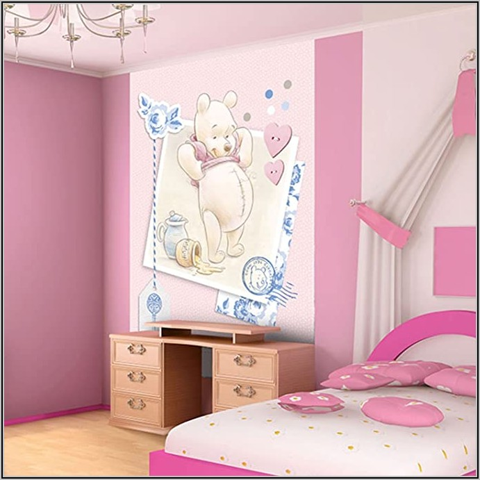 Kinderzimmer Tapete Winnie Pooh