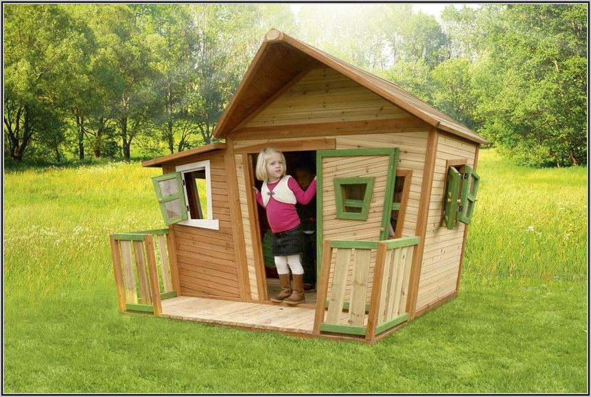 Spielhaus Holz Garten Für Kinder