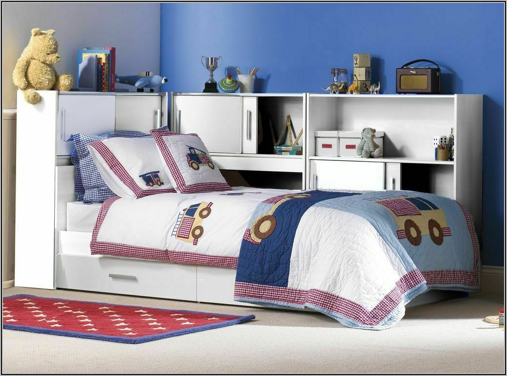 Stauraum Bett Kinderzimmer