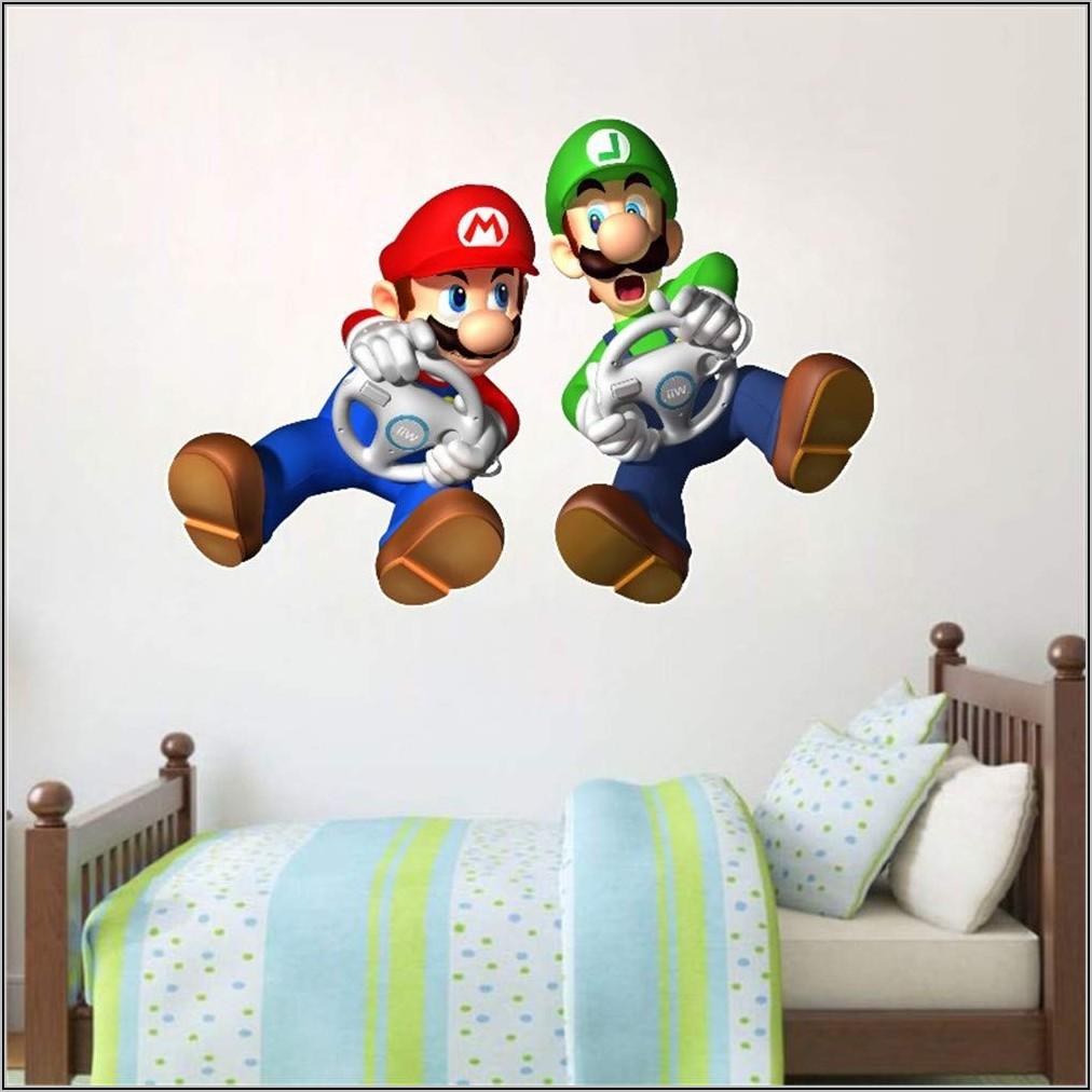 Super Mario Deko Kinderzimmer