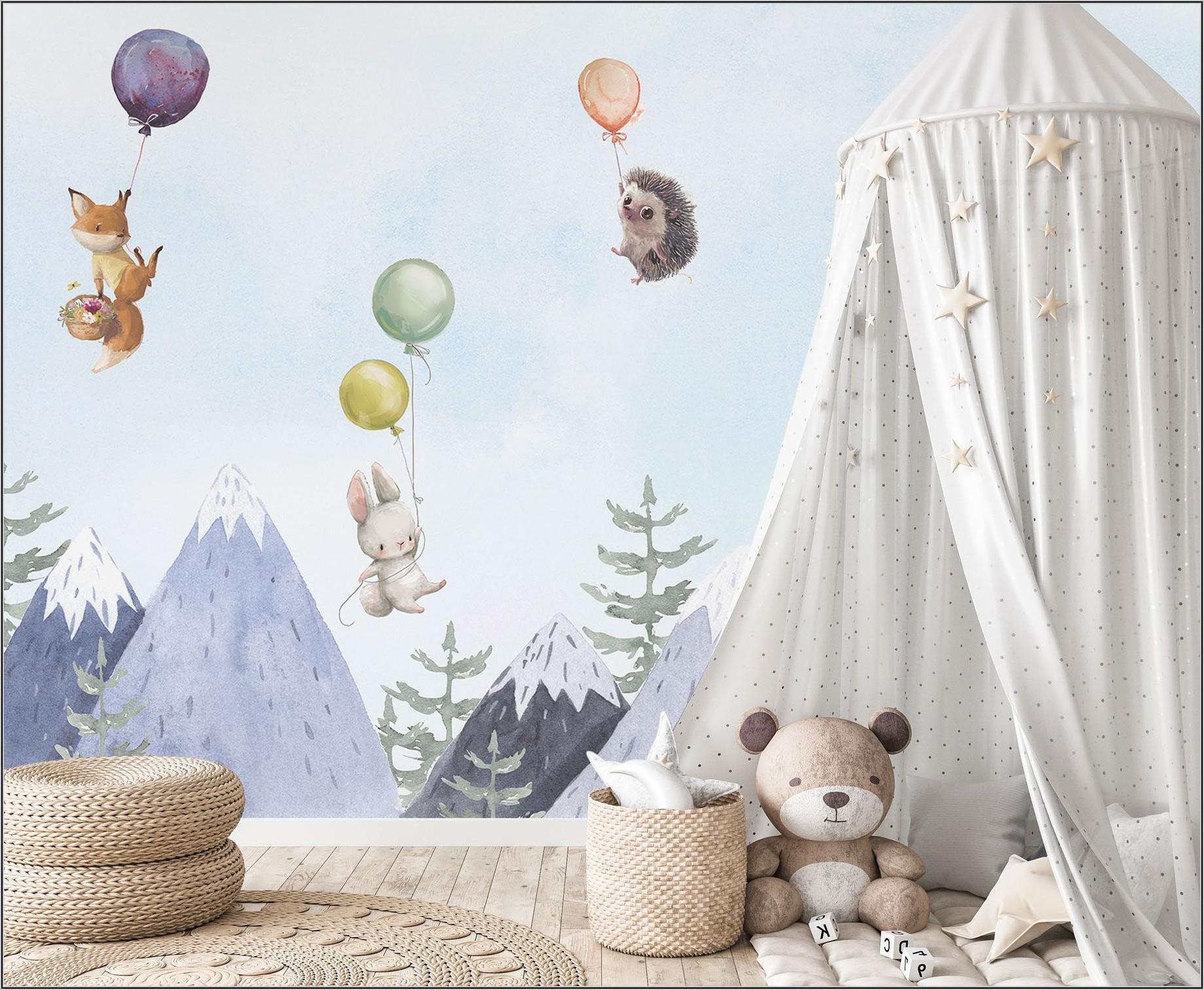 Tapete Kinderzimmer Junge Berge