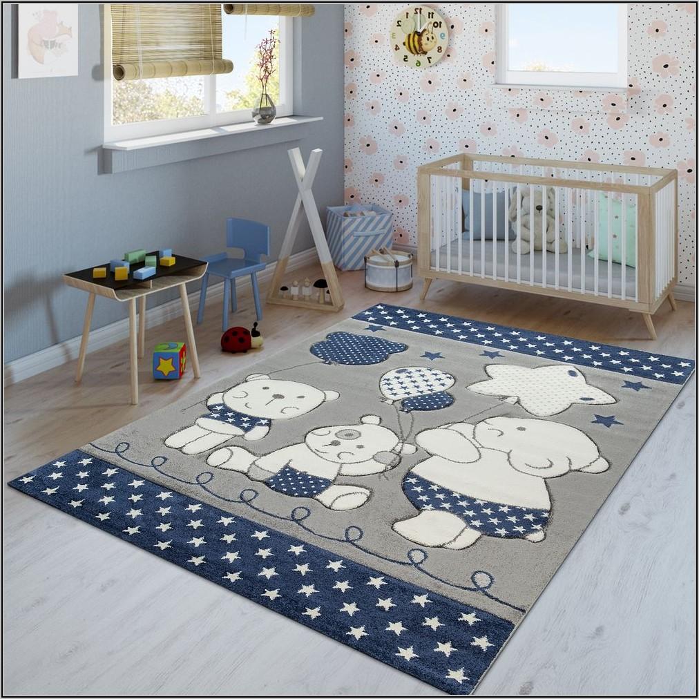 Teppich Blau Kinderzimmer