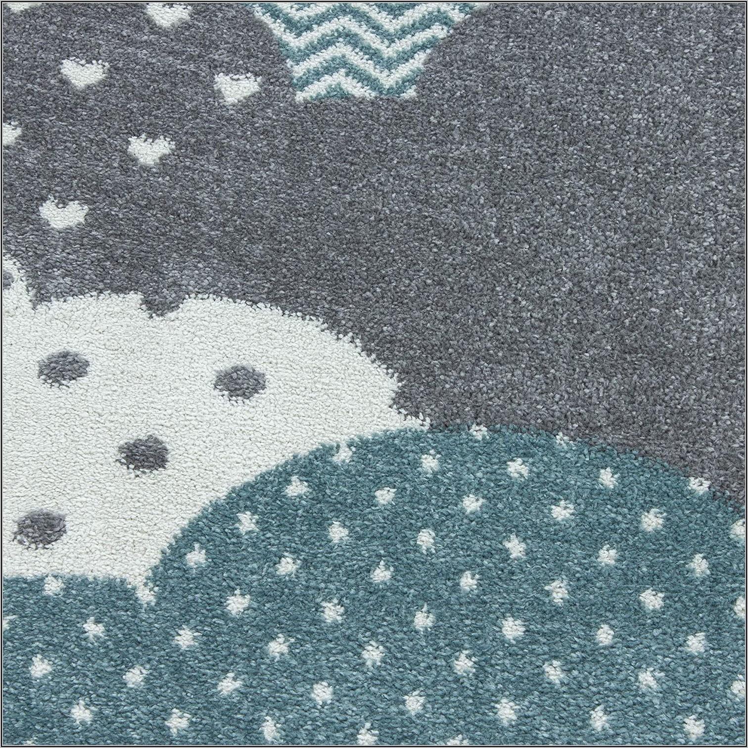 Teppich Kinderzimmer Blau