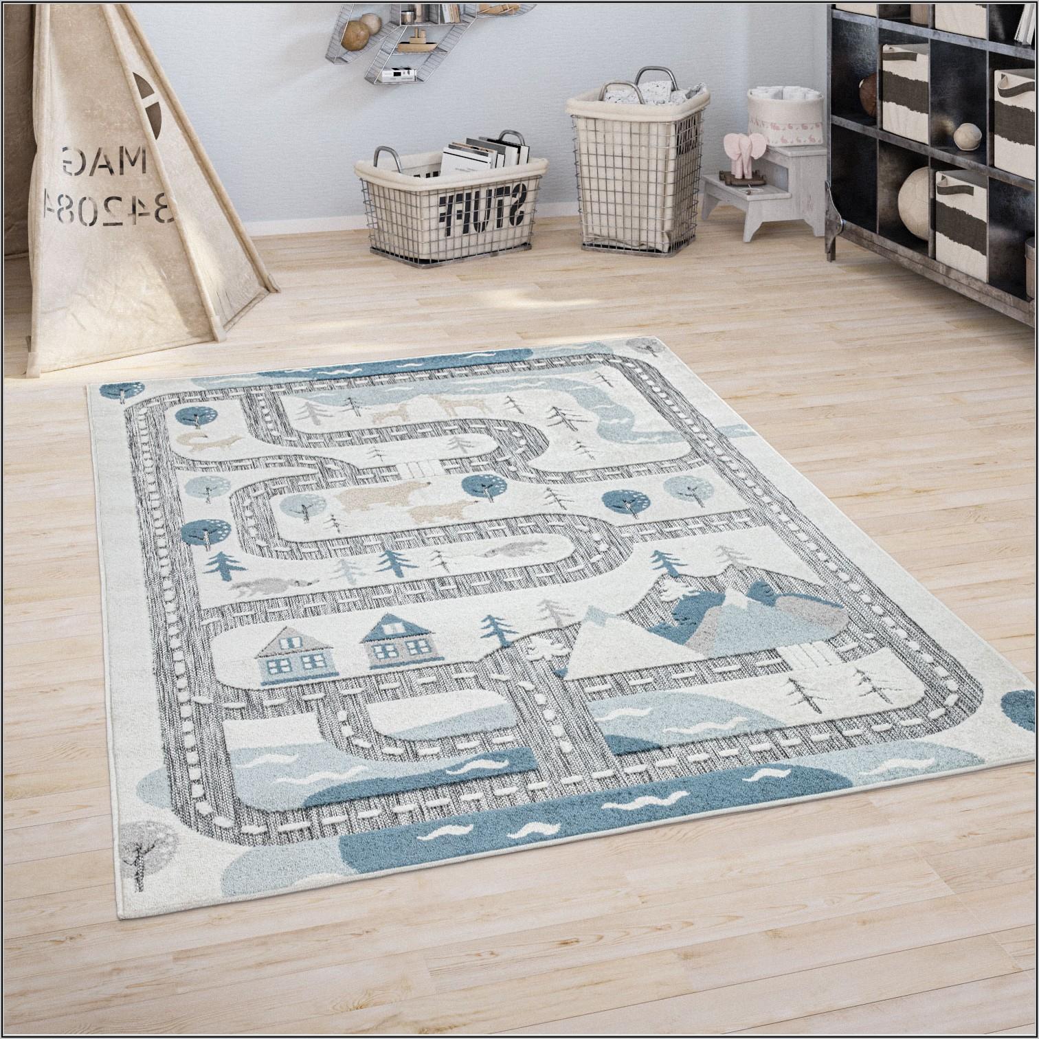 Teppich Kinderzimmer Junge Beige