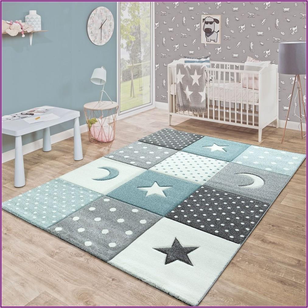 Teppich Kinderzimmer Junge Grau