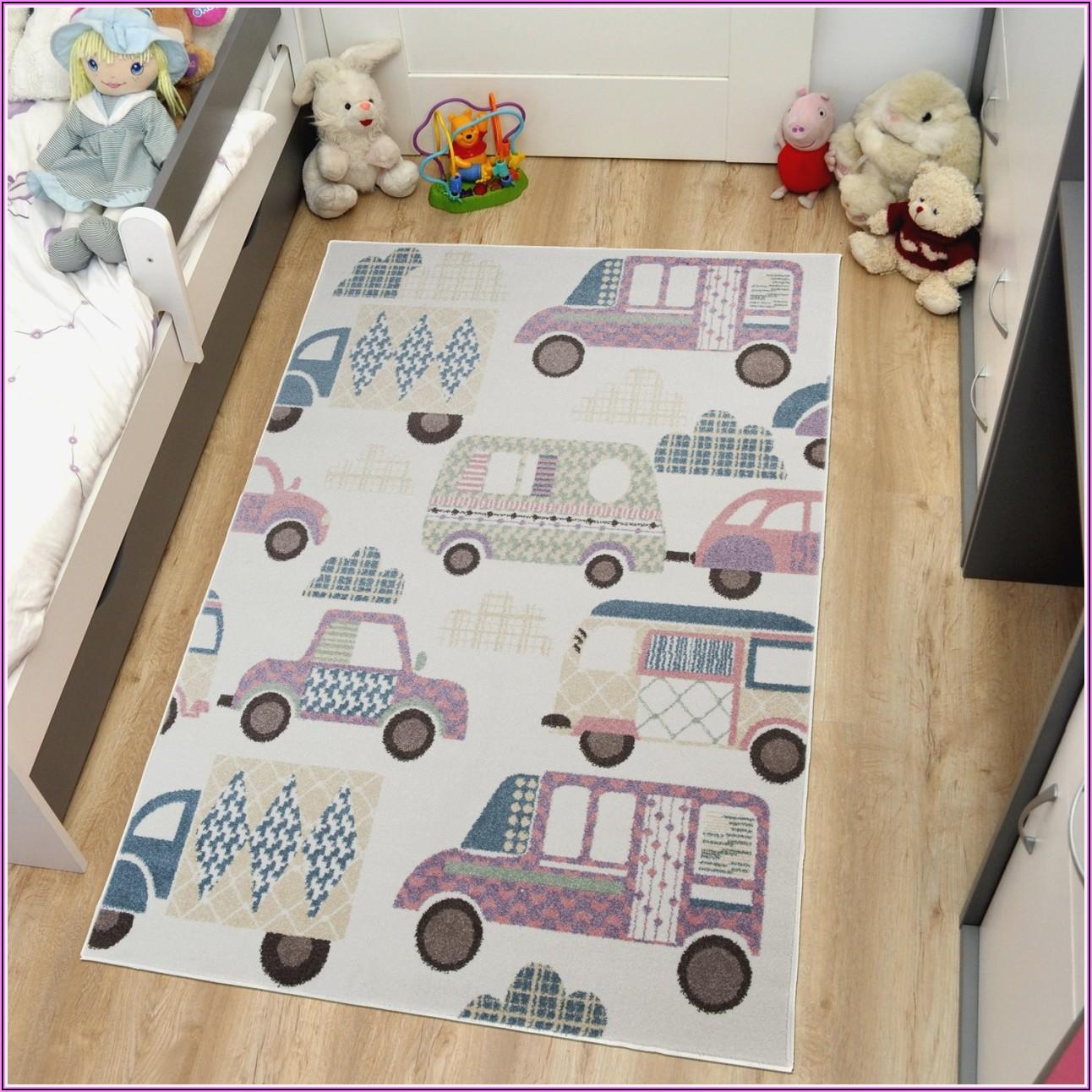Teppich Kinderzimmer Junge Strassen