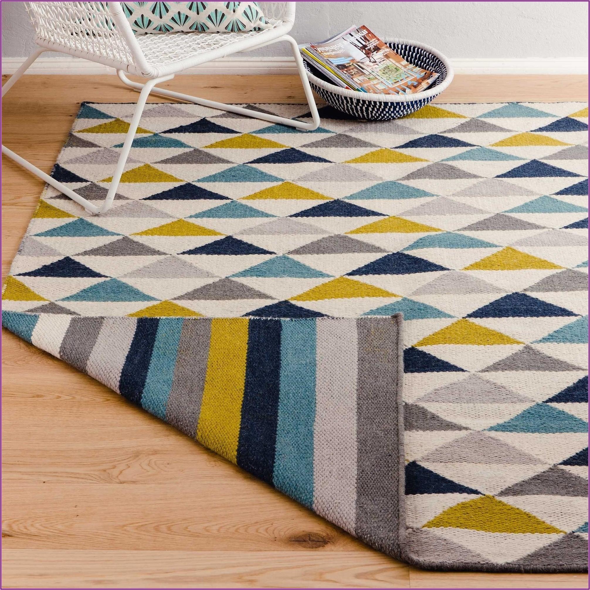 Teppich Kinderzimmer Rund Bunt