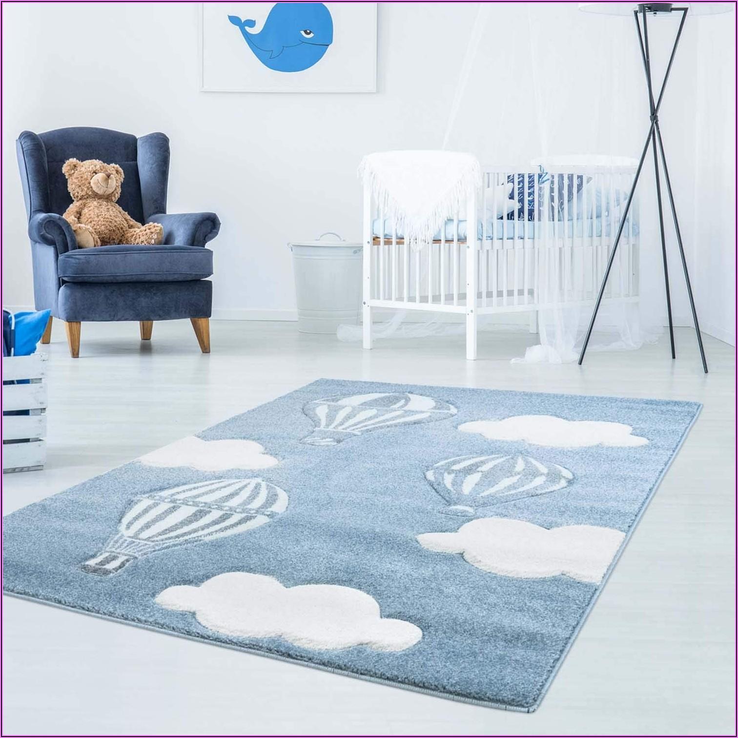 Teppich Kinderzimmer Rund Grau