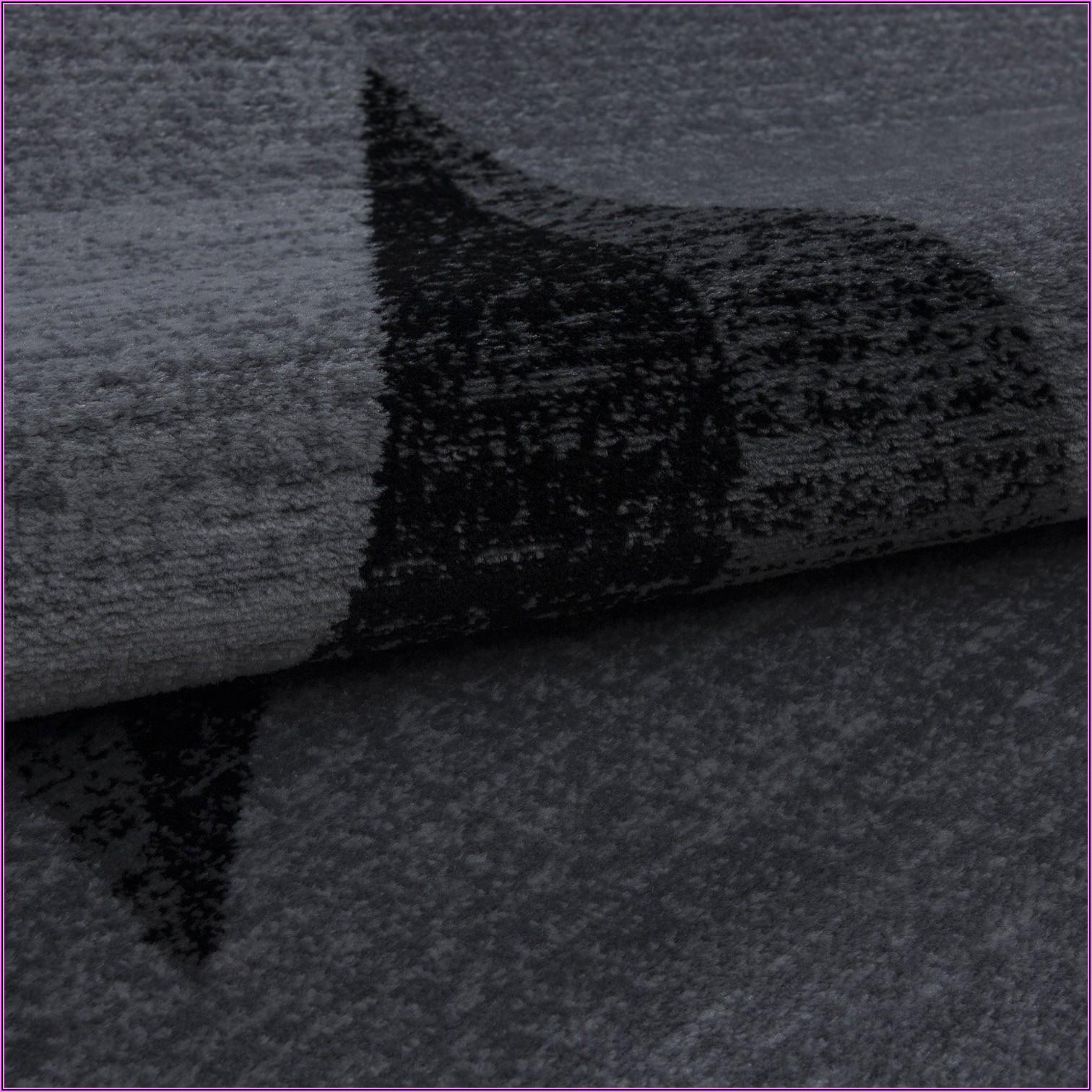 Teppich Schwarz Weiß Kinderzimmer