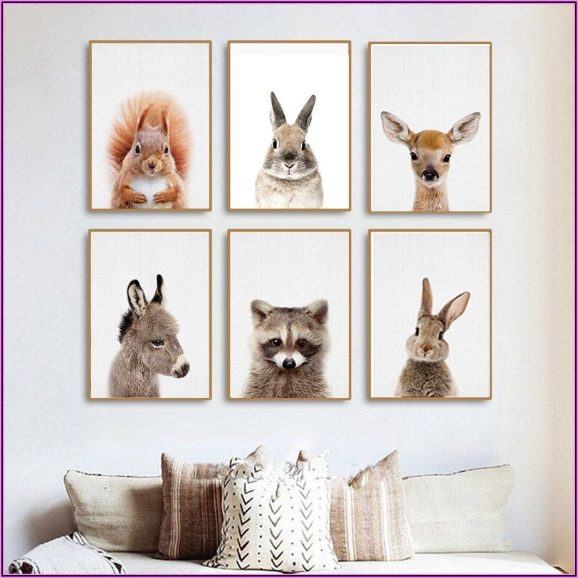 Tiere Kinderzimmer Wand