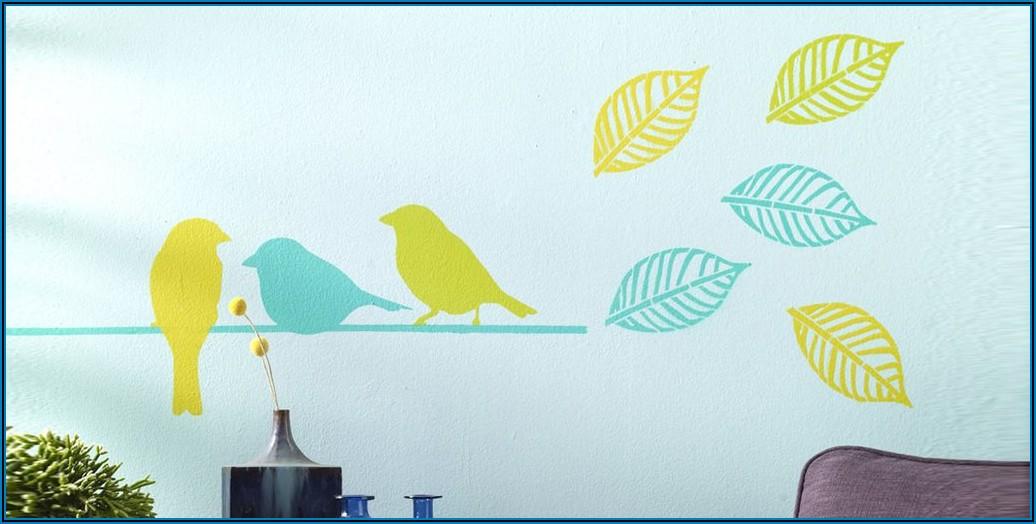 Schablone Für Kinderzimmer Wand