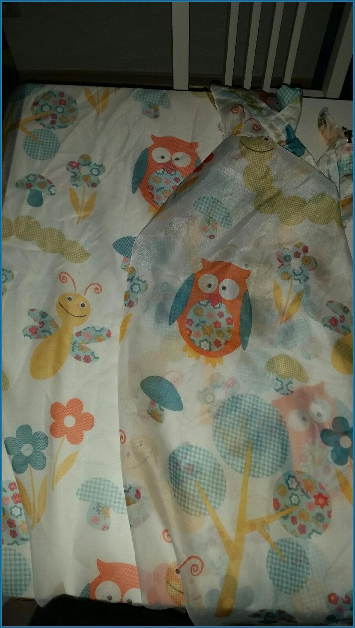 Vorhang Kinderzimmer Eule