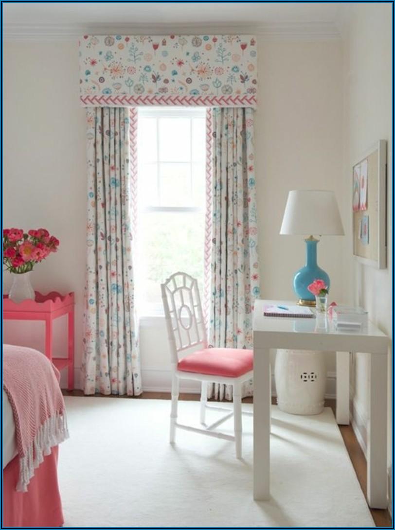 Vorhang Kurz Kinderzimmer Mädchen