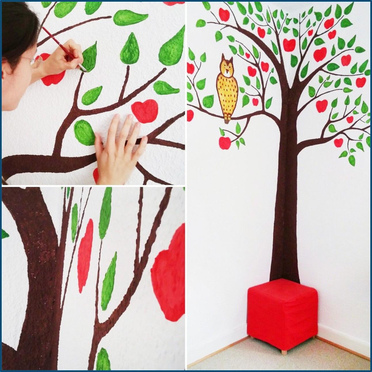 Wand Im Kinderzimmer Bemalen
