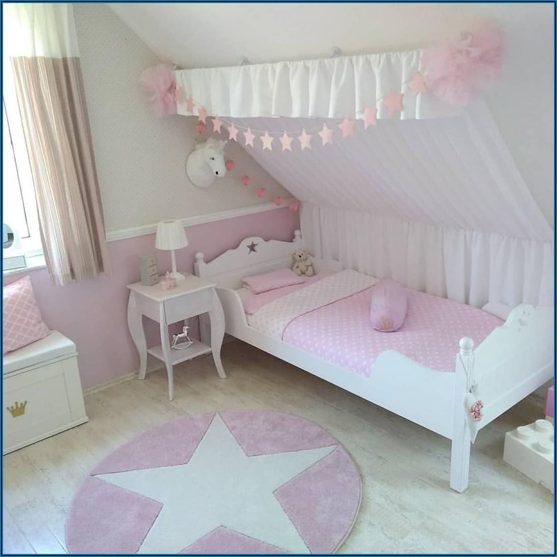 Wand Streichen Kinderzimmer Pink Mädchenzimmer