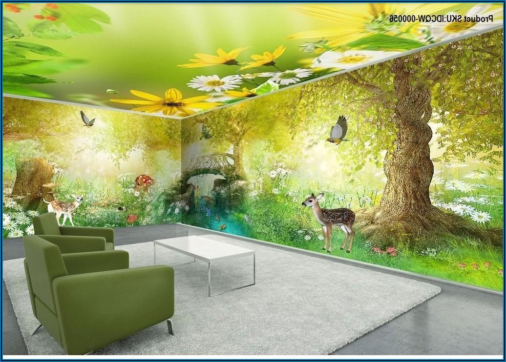 Wandbild Schmetterling Kinderzimmer