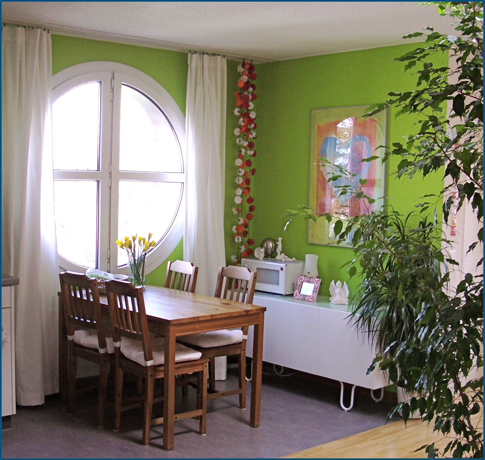 Wandfarbe Grün Kinderzimmer