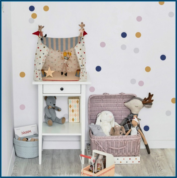 Wandfarbe Lila Kinderzimmer