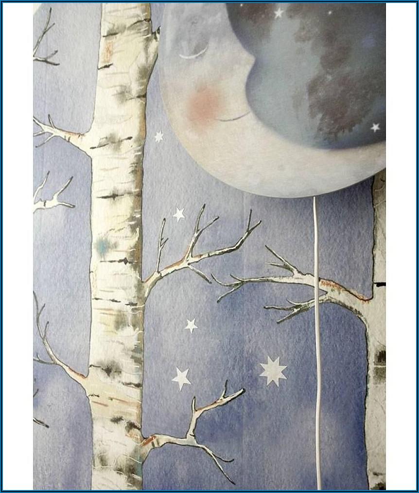 Wandlampe Mond Für Kinderzimmer