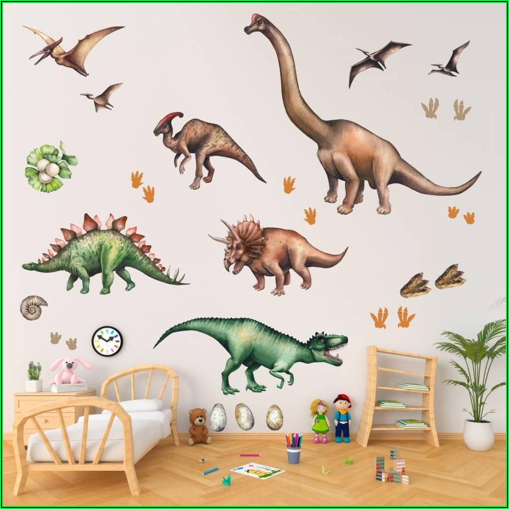 Wandsticker Für Kinderzimmer Dinosaurier