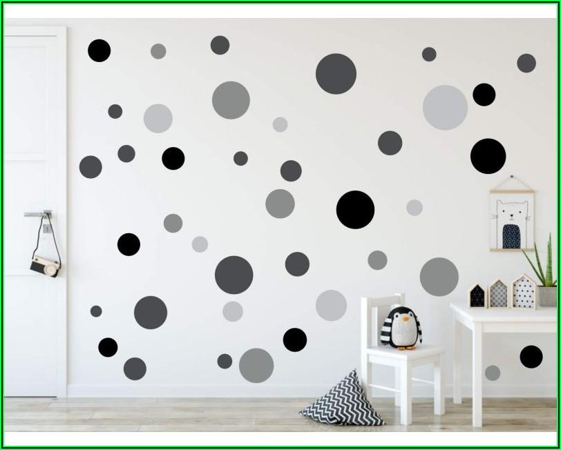 Wandsticker Kinderzimmer Schwarz Weiß