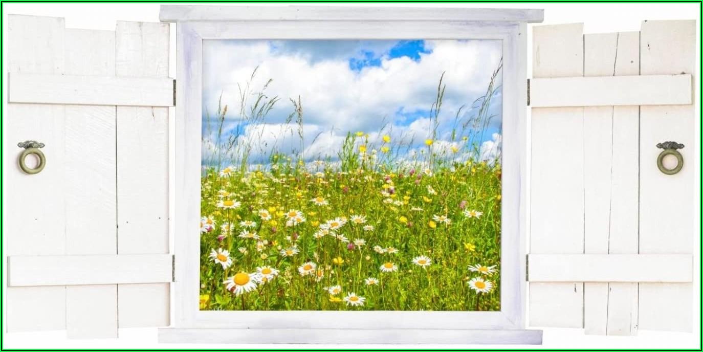 Wandtattoo Kinderzimmer Blumenwiese