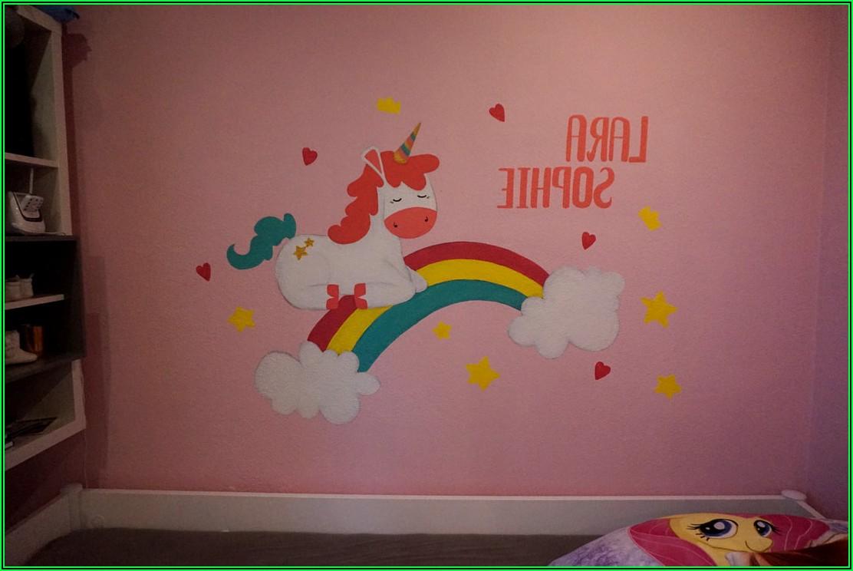 Wandtattoo Kinderzimmer Mädchen Leuchtend