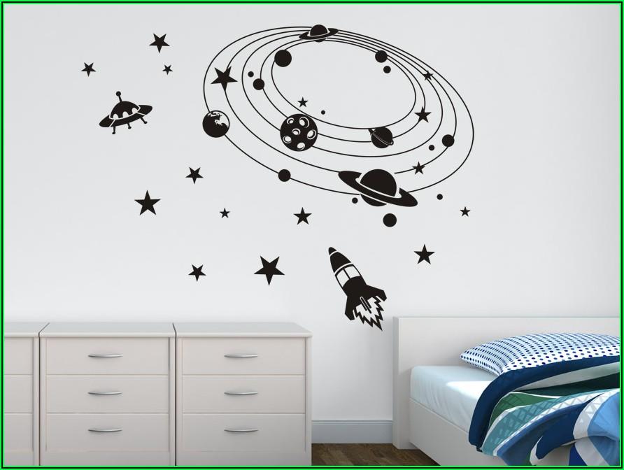 Wandtattoo Kinderzimmer Schwarz Weiß