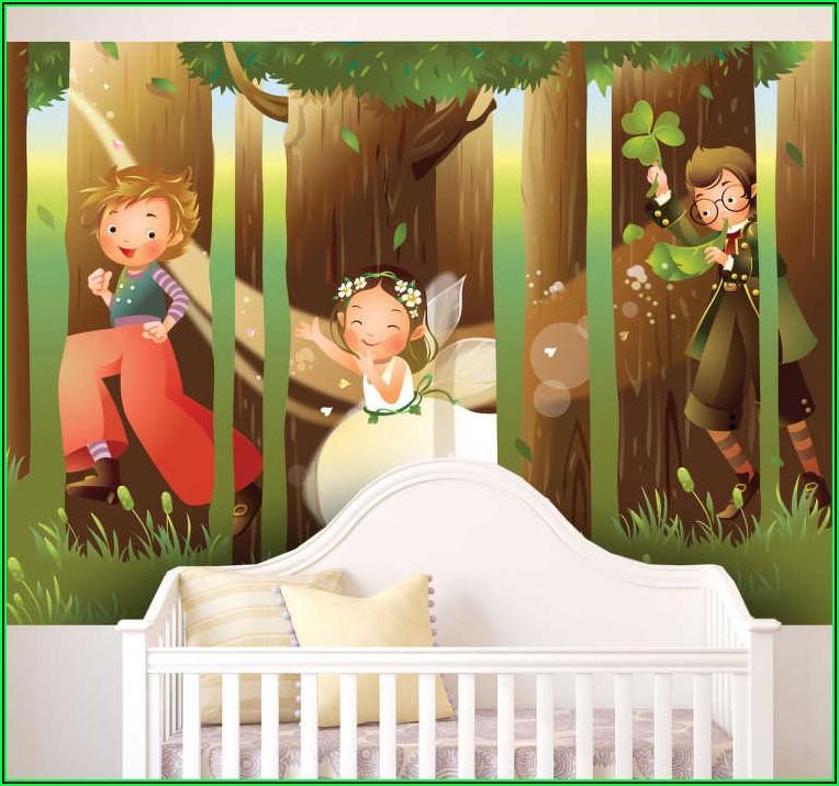 Wandtattoo Wald Kinderzimmer