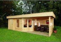 5 Eck Gartenhaus Mit Terrasse