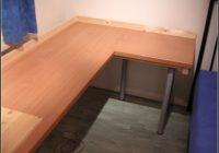 Arbeitsplatte Schreibtisch Wei