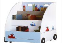 Bücherregal Kinderzimmer Rollen