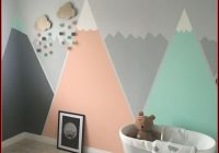Babyzimmer Ideen Wandgestaltung Mädchen