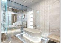 Badewanne Und Dusche In Kleinem Bad
