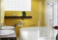 Badewanne Und Dusche Mit Tr