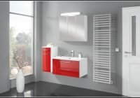Badezimmer Accessoires Set Rot
