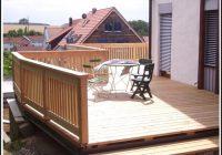 Balkon Aus Edelstahl Und Holz