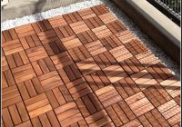 Balkon Bodenbelag Holz Obi