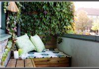 Balkon Sichtschutz Efeu Kunststoff