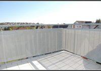 Balkon Sichtschutz Grau 90