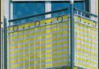 Balkon Sichtschutz Stoff Ikea