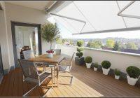 Balkon Sichtschutz Wei Grau