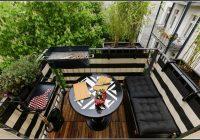 Bambus Als Sichtschutz Auf Dem Balkon