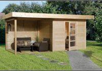 Bauanleitung Gartenhaus Flachdach