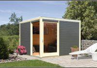 Bausatz Gartenhaus Pultdach