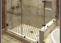 Begehbare Dusche Fliesen Reinigen