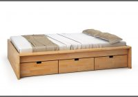 Bett 140×200 Buche Nachbildung
